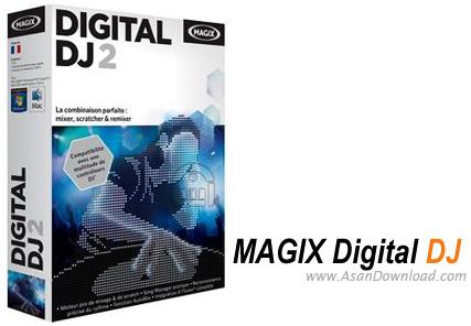 دانلود MAGIX Digital DJ v2.0 - نرم افزار شبیه ساز دی جی