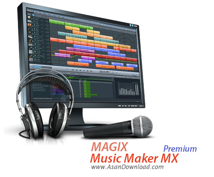 دانلود MAGIX Music Maker 2017 Premium v24.1.5.112 - نرم افزار آهنگ سازی حرفه ای