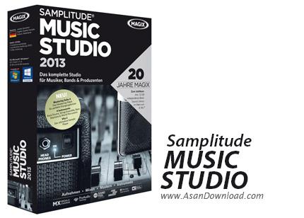 دانلود MAGIX Samplitude Music Studio 2014 v20.0.2.22 - نرم افزار تدوین موزیک ها