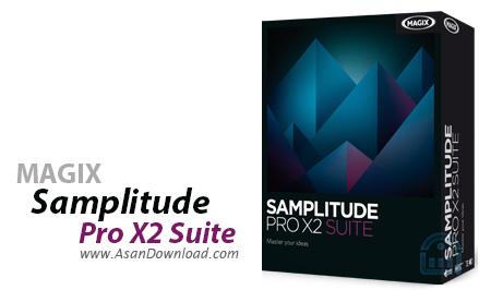 دانلود MAGIX Samplitude Pro X2 Suite v13.1.3.176 - نرم افزار ویرایش حرفه ای موزیک ها