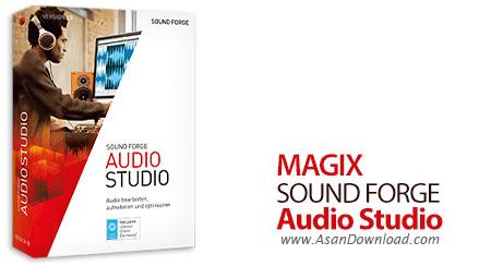 دانلود MAGIX Sound Forge Audio Studio v12.6.0.352 - نرم افزار ویرایش فایل صوتی