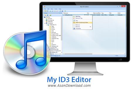 دانلود My ID3 Editor v2.4.6 - نرم افزار ویرایش تگ فایل های صوتی