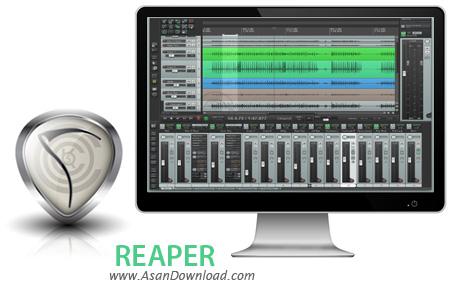 دانلود REAPER v5.51 - نرم افزار ضبط ویرایش و تبدیل موزیک