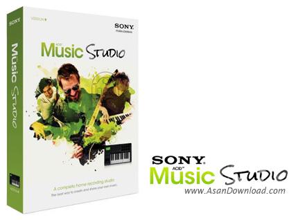دانلود Sony ACID Music Studio v9.0 - لذت ویرایش موزیک ها