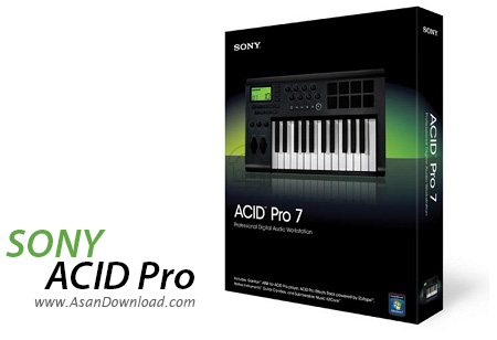 دانلود Sony ACID Pro v7.0 - نرم افزار ویرایش حرفه ای موزیک ها