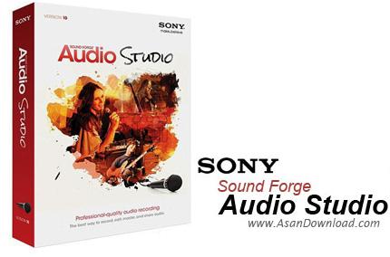 دانلود Sony Sound Forge Audio Studio v10.0.178 - نرم افزار ویرایش موزیک ها