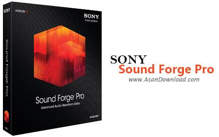دانلود Sony Sound Forge Pro v11.0 Build 293 - نرم افزار ویرایش حرفه ای فایل های صوتی