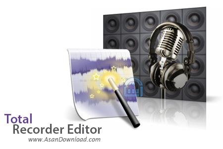 دانلود Total Recorder Editor Pro v14.5.3 - نرم افزار ضبط و ویرایش صداها