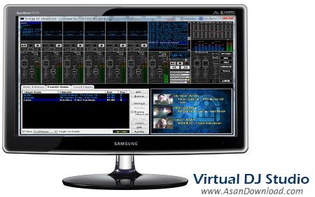 دانلود Virtual DJ Studio 2015 v7.0.02 - نرم افزار ساخت و میکس موزیک