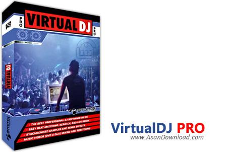 دانلود Atomix Virtual DJ Pro v8.2 Build 3798 - نرم افزار دی جی و میکس فایل های صوتی