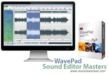 دانلود WavePad Sound Editor Masters v8.03 - نرم افزار سبک ویرایش صداها