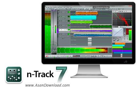 دانلود n-Track Studio v8.1.3 Build 3446 - نرم افزار ضبط و ویرایش موزیک ها
