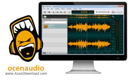 دانلود ocenaudio v3.3.6 - ویرایشگر ساده فایل های صوتی