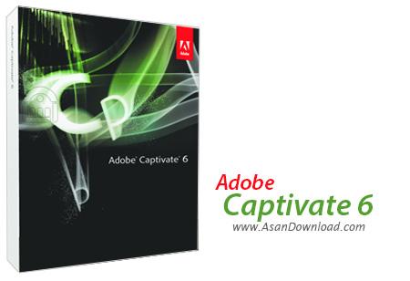 دانلود Adobe Captivate CS6 v6.0.1.240 - نرم افزار ساخت آموزش های الکترونیکی حرفه ای