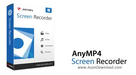 دانلود AnyMP4 Screen Recorder v1.2.12 - نرم افزار تصویربرداری از صفحه نمایش