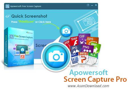 دانلود Apowersoft Screen Capture Pro v1.4.5.5 - نرم افزار تصویر برداری دسکتاپ
