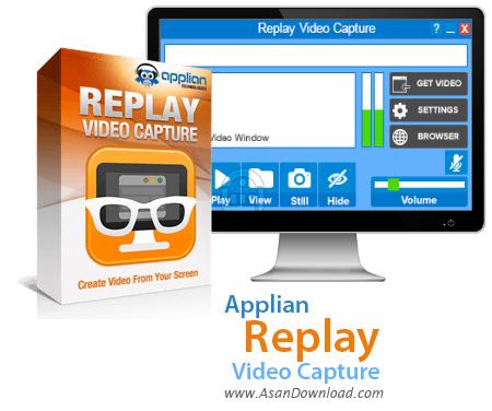 دانلود Applian Replay Video Capture v8.6.3 - ضبط ویدئوهای آنلاین