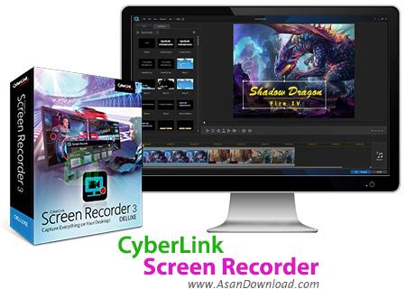 دانلود CyberLink Screen Recorder v3.1.1.5177 - نرم افزار فیلمبرداری از دسکتاپ
