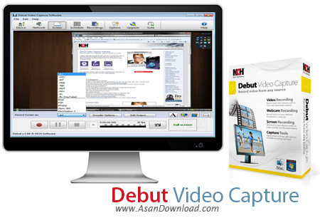 دانلود Debut Video Capture Pro v5.09 - نرم افزار ضبط فیلم در ویندوز