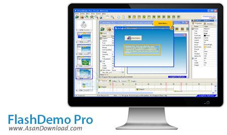 دانلود FlashDemo Pro v5.0.0.68 - نرم افزار ساخت فیلم و دمو آموزشی