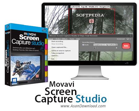 دانلود Movavi Screen Capture Pro v9.5.0 + Studio v9.4.0 - نرم افزار عکسبرداری و فیلمبرداری از صفحه نمایش