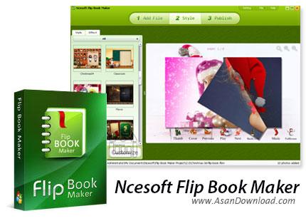 دانلود Ncesoft Flip Book Maker v2.8.1.0 - نرم افزار ساخت کتاب های تصویری
