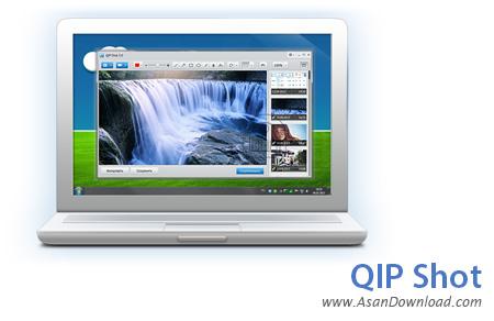 دانلود QIP Shot v3.4.3 - تهیه عکس و فیلم از صفحه نمایش
