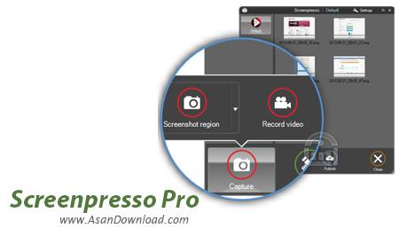 دانلود Screenpresso Pro v1.5.6.0 - نرم افزار تهیه عکس از دسکتاپ