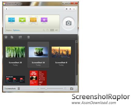 دانلود Screenshot Raptor v1.5.0 - نرم افزار تهیه عکس از صفحه نمایش