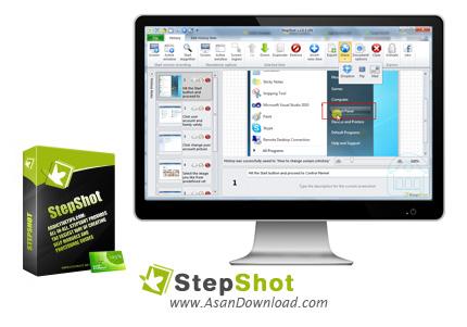 دانلود StepShot v4.3.0 - نرم افزار عکس گرفتن از صفحه و ساخت آموزش های گام به گام