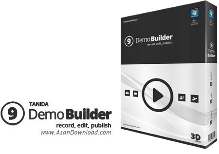 دانلود Tanida Demo Builder v11.0.30.0 - نرم افزار تصویر برداری از محیط ویندوز