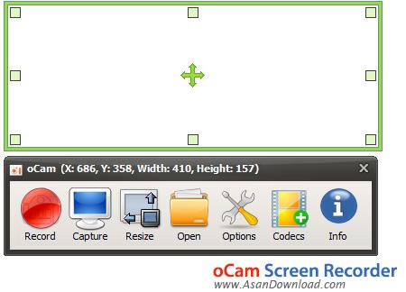 دانلود oCam Screen Recorder Pro v361.0 - نرم افزار تهیه عکس و فیلم از دسکتاپ و بازی