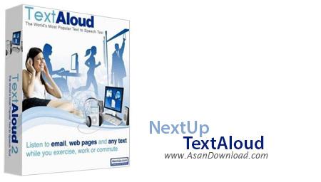 دانلود NextUp TextAloud v4.0.33 - نرم افزار یادگیری سریع زبان انگلیسی