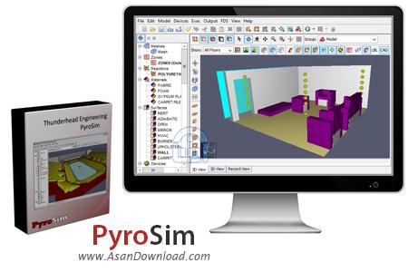 دانلود PyroSim v2015.1.0129 x64 - نرم افزار شبیه سازی آتش سوزی