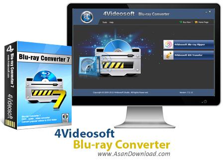 دانلود 4Videosoft Blu-ray Converter v7.2.12 - نرم افزار تبدیل فیلم های بلوری