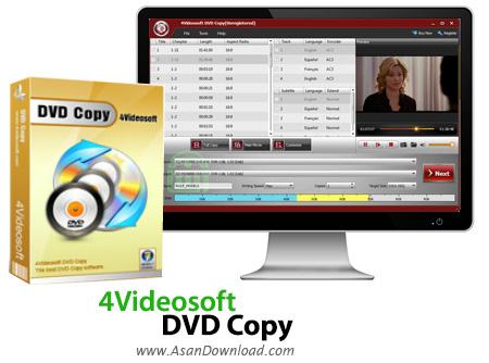 دانلود 4Videosoft DVD Copy v3.2.30 - نرم افزار کپی دی وی دی ها