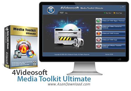 دانلود 4Videosoft Media Toolkit Ultimate v5.0.50 - نرم افزار کار با فایل های صوتی و تصویری