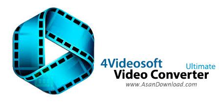 دانلود 4Videosoft Video Converter Ultimate v6.2.32 - نرم افزار مبدل ویدئویی