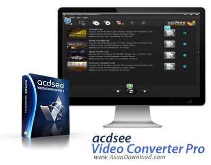 دانلود ACDSee Video Converter Pro v3.0.23 - مبدل حرفه ای ویدئویی