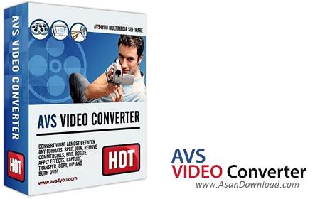 دانلود AVS Video Converter v10.1.1.621 + VideoMenu Pack v1.2.5.20 - نرم افزار تبدیل فایل های ویدئویی