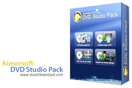 دانلود Aimersoft DVD Studio Pack v2.2.0.19 - نرم افزاری برای کار با فایل های چندرسانه ای