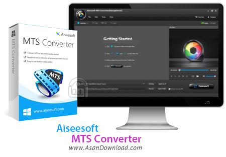 دانلود Aiseesoft MTS Converter v7.1.86 - نرم افزار مبدل فرمت های TS و MTS