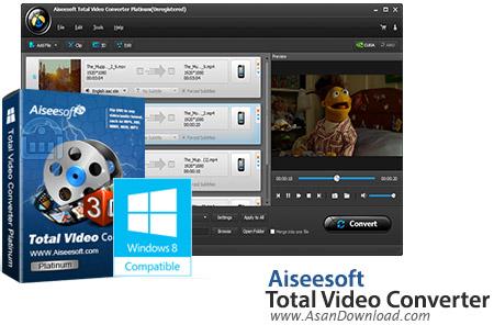 دانلود Aiseesoft Total Video Converter v10.0.12 - نرم افزار مبدل ویدئویی