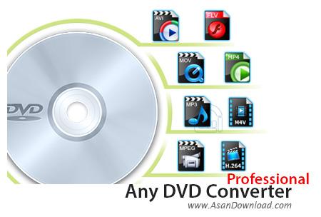 دانلود Any DVD Converter Pro v6.2.3 - نرم افزار تبدیل دی وی دی فیلم
