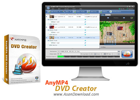 دانلود AnyMP4 DVD Creator v7.2.12 - نرم افزار ساخت دی وی دی فیلم