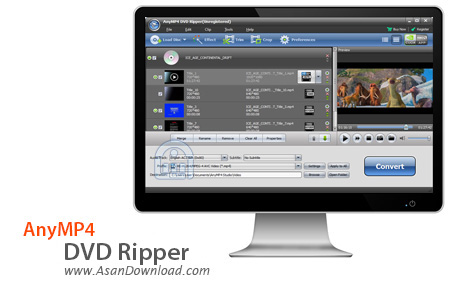 دانلود AnyMP4 DVD Ripper v6.2.28 - نرم افزار مبدل DVDها