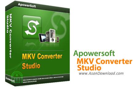 دانلود Apowersoft MKV Converter Studio v4.5.6 - نرم افزار تبدیل فرمت MKV
