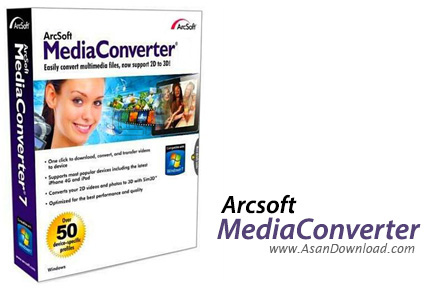 دانلود ArcSoft MediaConverter v8.0.0.21 - نرم افزار مبدل فایل های مالتی مدیا