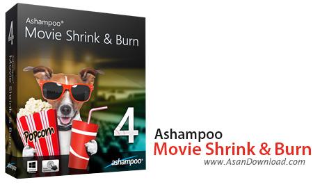 دانلود Ashampoo Movie Shrink & Burn v4.0.2.4 - مبدل فیلم ها به دی وی دی ها