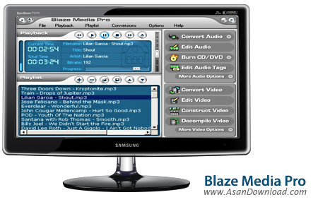 دانلود Blaze Media Pro v9.10 - نرم افزار مدیریت فایل های مالتی مدیا